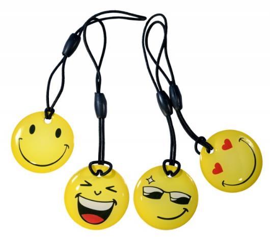 Купить Ключ брелок-заготовка Т5577 Smile 125kHz стандарта EM-Marin, HID ProxII, Motorola
