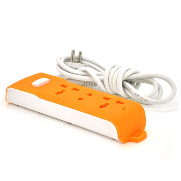 Купить Сетевой фильтр OR320,  220В 10А, 3 универсальных розетки, 2,0 м, Orange (100)