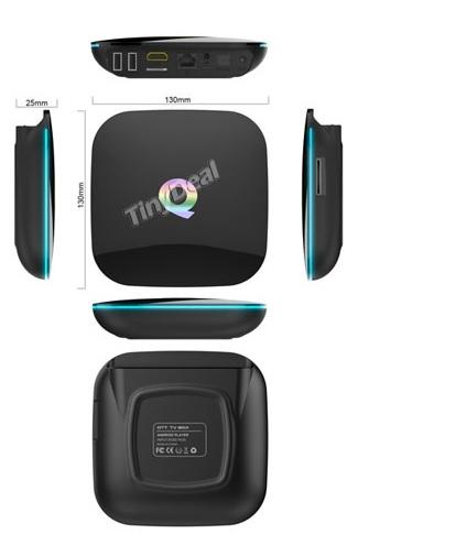 Купить Медиа плеер OTT TV  Q-BOX-16G UHD 4K/IPTV, Amlogic S905, Android 5.1., 2G DDR3, 16G NAND, UHD 4K2K, 3D, Wi-Fi AP6330 802.11/b/g/n 2.4G-5G, HD