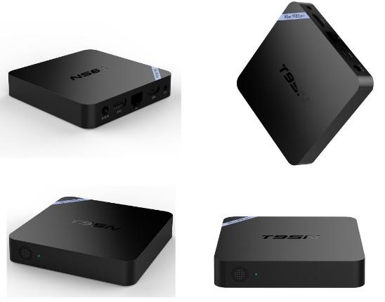 Купить Медиа плеер OTT TV  T95N-2G  UHD 4K/IPTV, Amlogic S905х, Android 6.0., 2G DDR3, 8G EMMC NAND, UHD 4K2K, 3D, Wi-Fi AP6330 802.11/b/g/n 2.4G-5G, HD