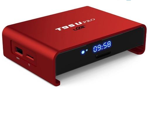 Купить Медиа плеер OTT TV T95UPRO UHD 4K/IPTV, Amlogic S912chip, Android 6.0., 2G DDR3, 16G NAND, UHD 4K2K, 3D, Wi-Fi AP6330 802.11/b/g/n 2.4G-5G, HD