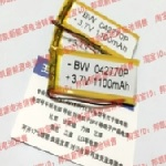 Купить Литий-полимерный аккумулятор 4*25*40mm (500mAh 3,7V)