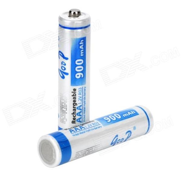 Купить Аккумулятор GODP GD4-AAA900/2B 1.2V  AAA 900mAh NiMH Already Charged, 2 штуки в блистере цена за блистер