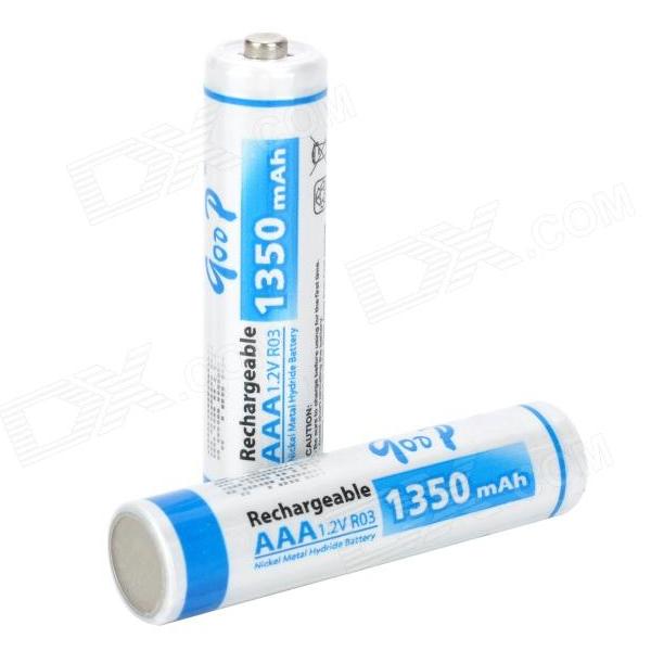 Купить Аккумулятор GODP GD4-AAA1350/2B 1.2V  AAA 1350mAh NiMH Already Charged, 2 штуки в блистере цена за блистер