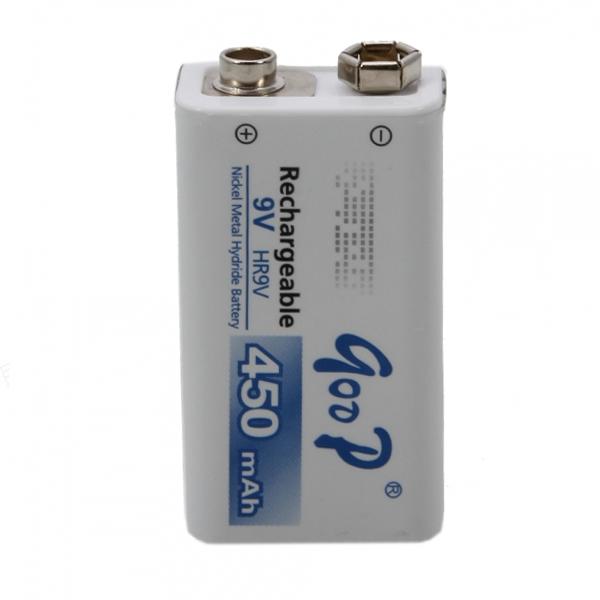 Купить Аккумулятор GODP GD9V450, 9V 450 mAh, крона, 10 (100шт.) х10(10шт.) х1 блистер цена за 1шт