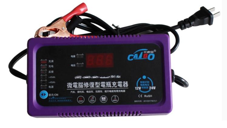 Купить Зарядное устройство для аккумулятора CAIBO 6V-24V 4Ah-200A