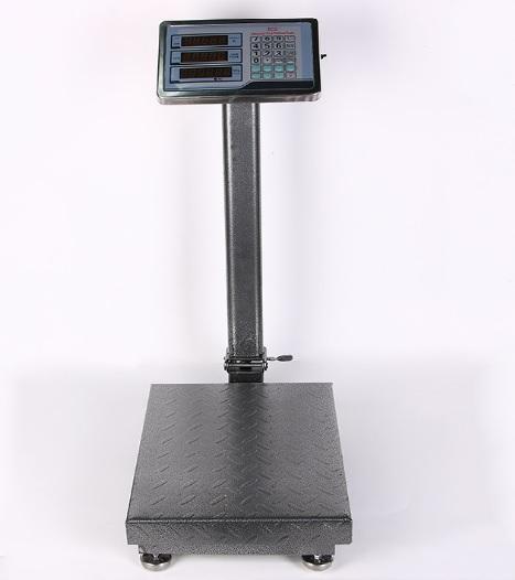 Купить Весы торговые электронные TCS-300 (300кг) со стойкой и счетчиком цены