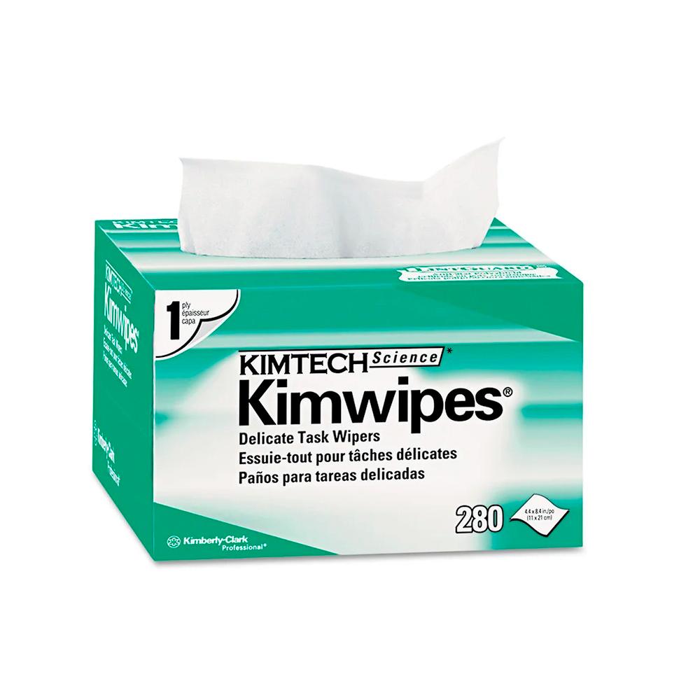 Купить Cалфетки безворсовые для оптики KIMTECH Kimwipes, 280 шт в упаковке