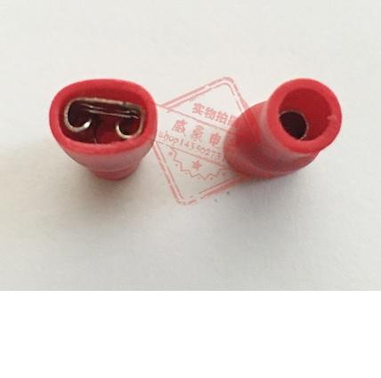Купить Разъем виброустойчивый плоский полностью изолированный FDFD1.25-187, провод 0.5-1.5, макс.ток 10А, под обжимку, латунь, 1000шт за уп, цена за упаковку