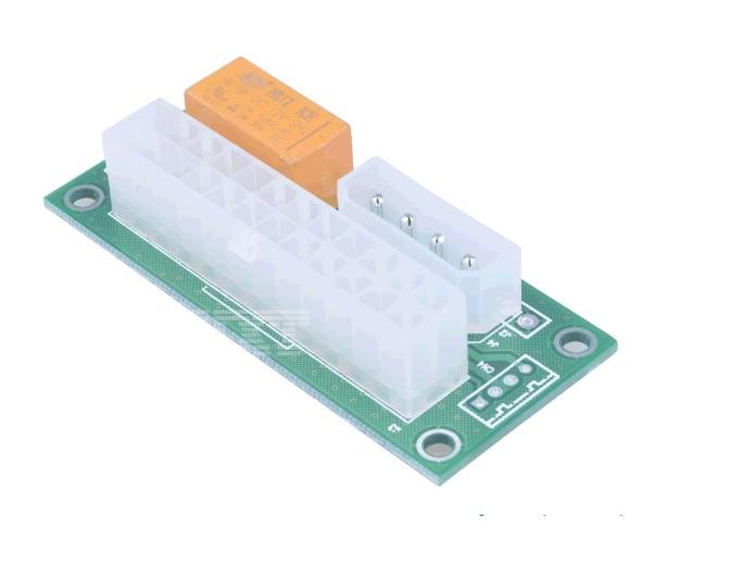 Купить Синхронизатор блоков питания ADD2PSU, MOLEX , 1 х 20+4, цена за штуку, Пакет