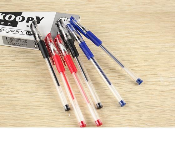 Купить Ручка гелевая, черная, 0,5мм