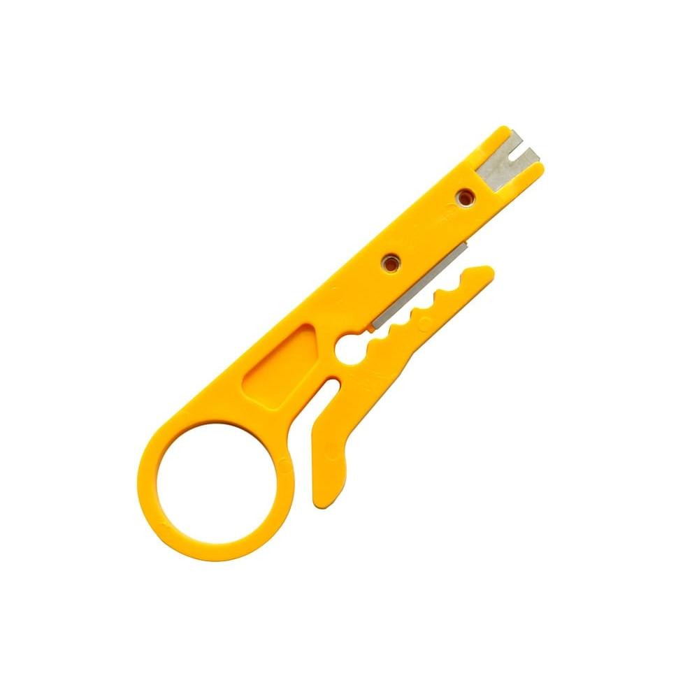 Купить Инструмент для зачистки кабеля Stripper, yellow, цена за штуку, Q100