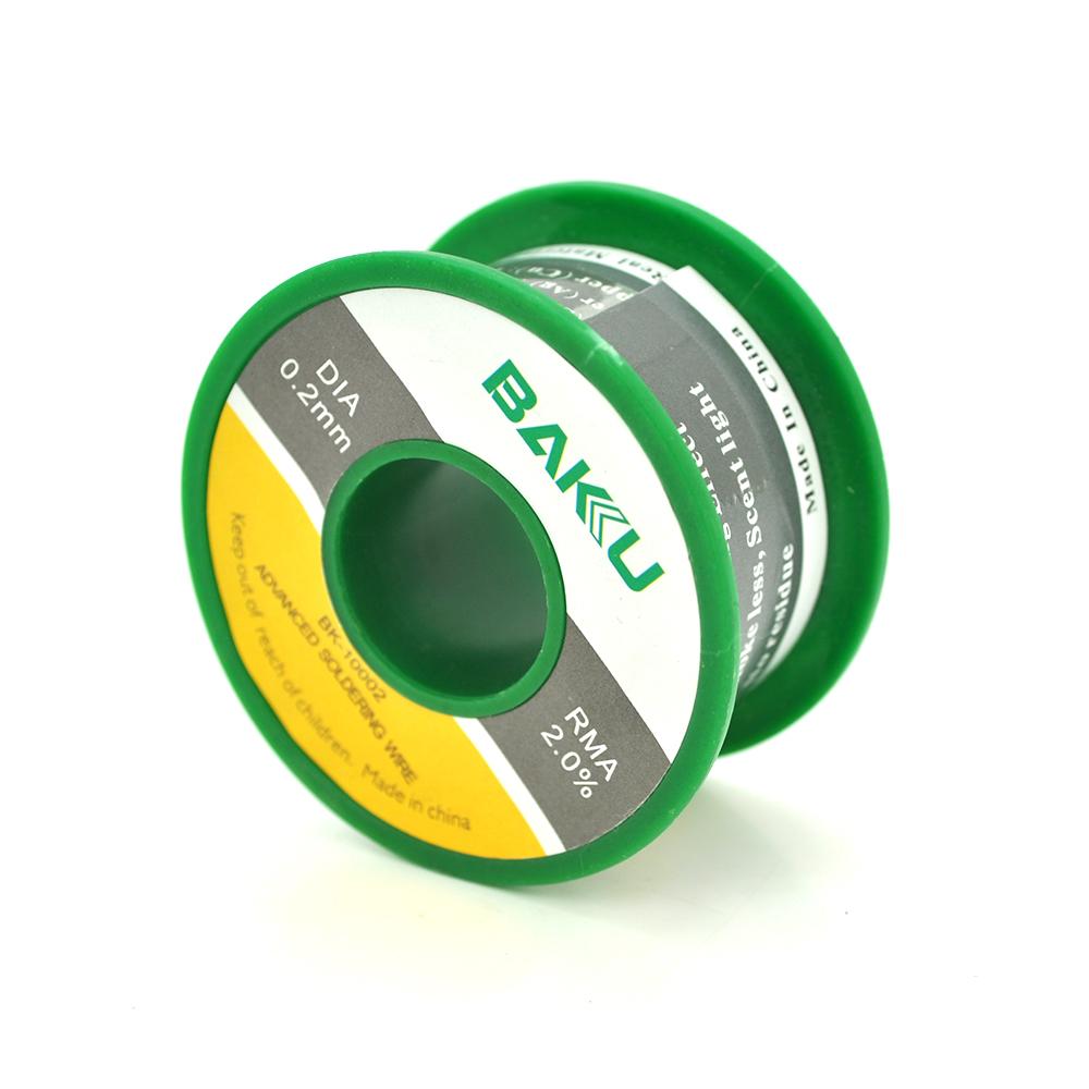 Купить Припой BAKKU проволочный Solder wire BK10002 DIA 0,2mm (50g)