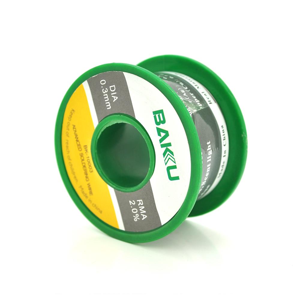 Купить Припой BAKKU проволочный Solder wire BK10002 DIA 0,3mm (50g)