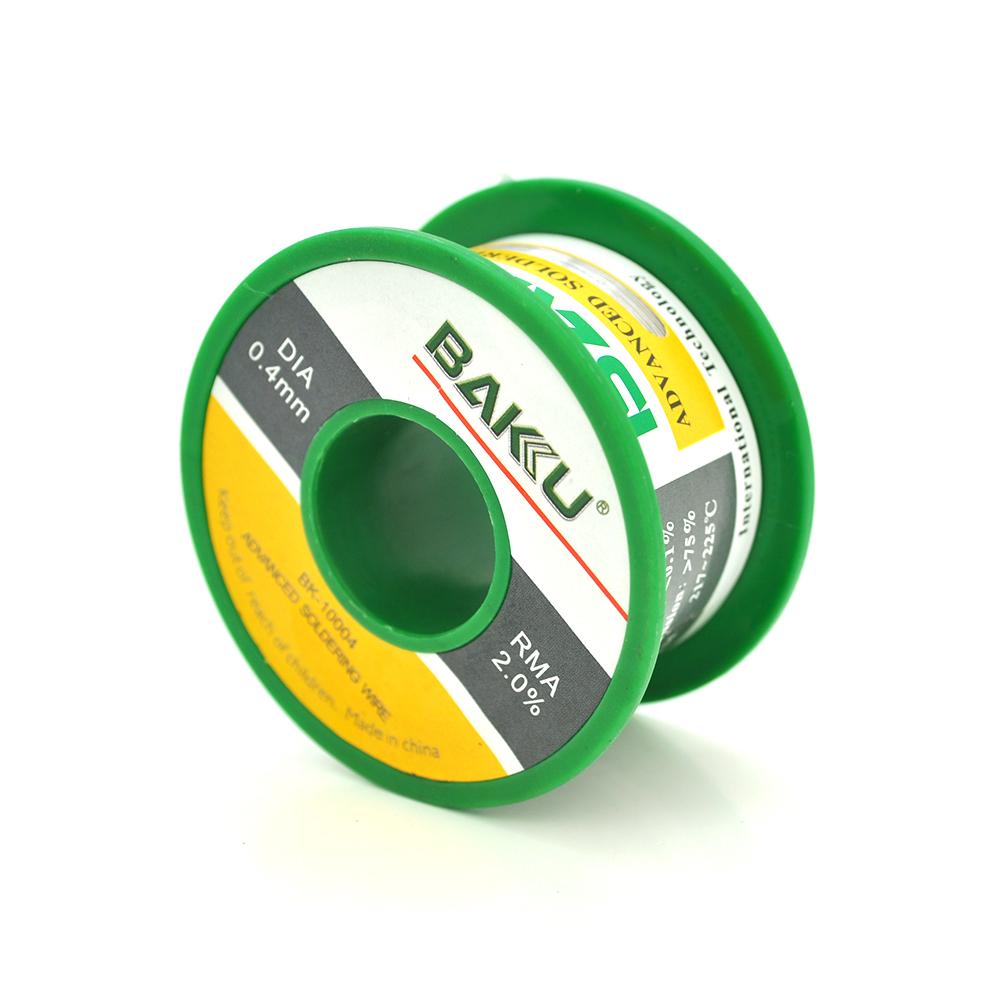 Купить Припой BAKKU проволочный Solder wire BK10002 DIA 0,4mm (50g)