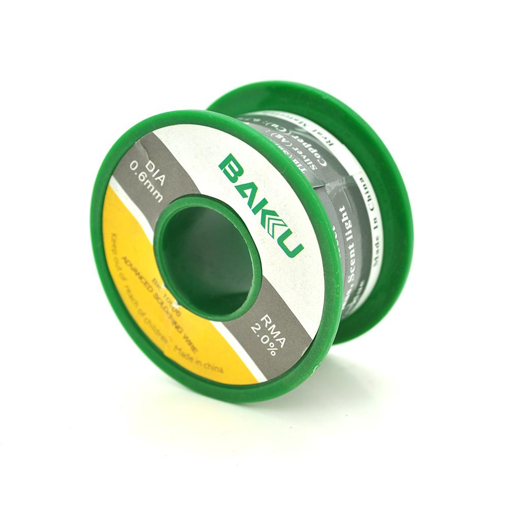 Купить Припой BAKKU проволочный Solder wire BK10002 DIA 0,6mm (50g)