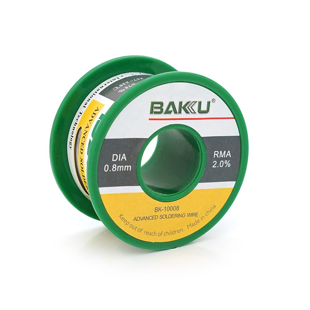 Купить Припой BAKKU проволочный Solder wire BK10008 DIA 0,8mm (50g)