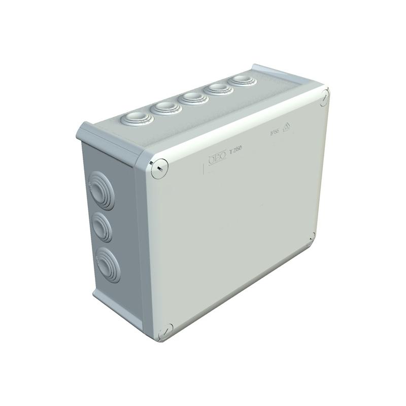 Купить Коробка распределительная наружная Т100 151x117x67 IP66 OBO Bettermann цвет белый
