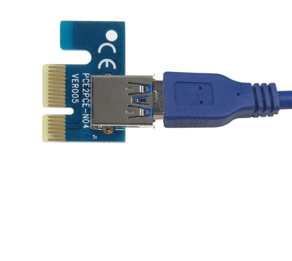 Купить Адаптер - переходник с PCI-e x1 на USB 3.0, OEM