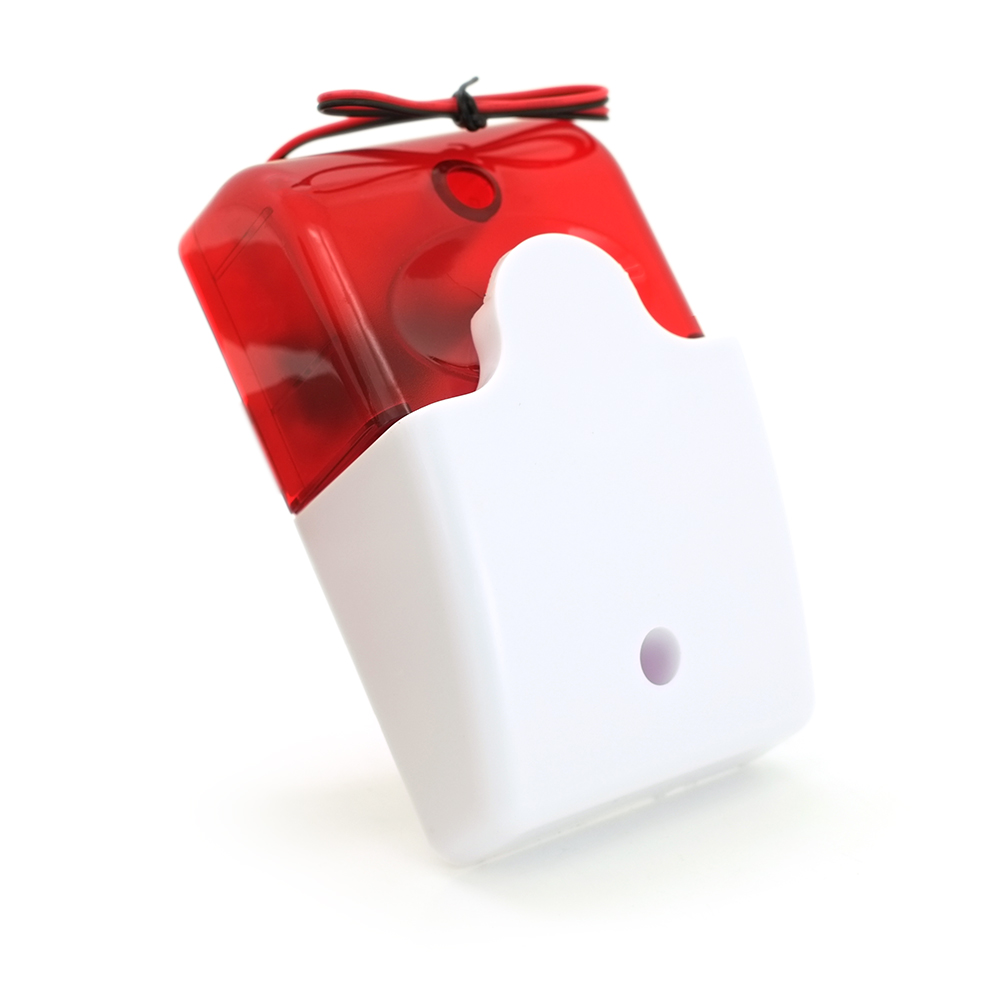 Купить Сирена LD-95 105 дБ (свето-звуковой оповещатель) ультрояркие светодиоды, 12 В, Q100