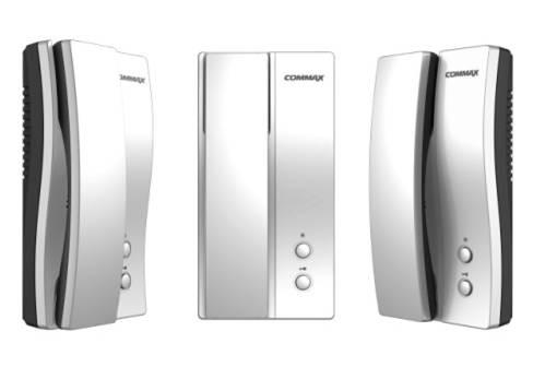 Купить Аудиодомофон COMMAX DP-2S (кнопка открывания замка, 220В, ориг. дизайн)