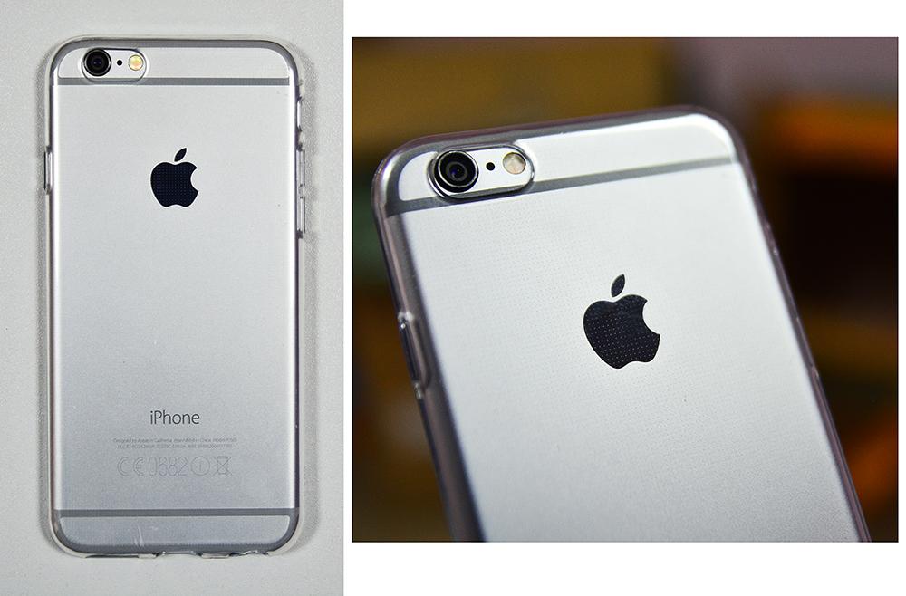Купить Силиконовый чехол 1мм iPhone X transparent
