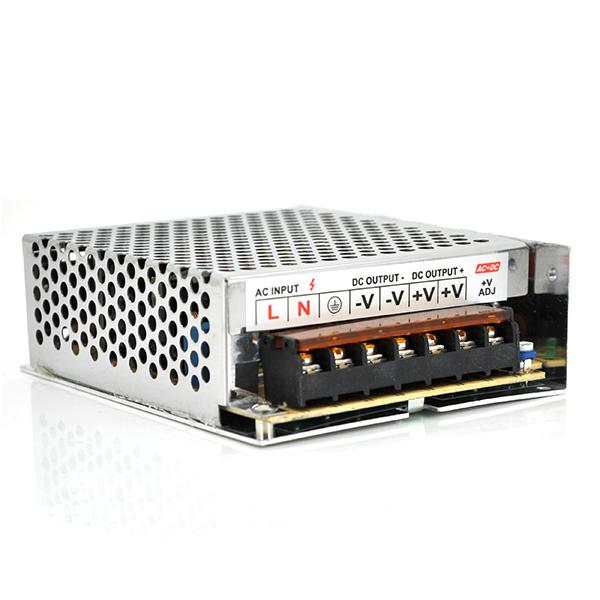 Купить Импульсный блок питания Ritar RTPS24-120 24В 5А (120Вт) перфорированный (208*102*46) 0,42 кг (200*98*40)