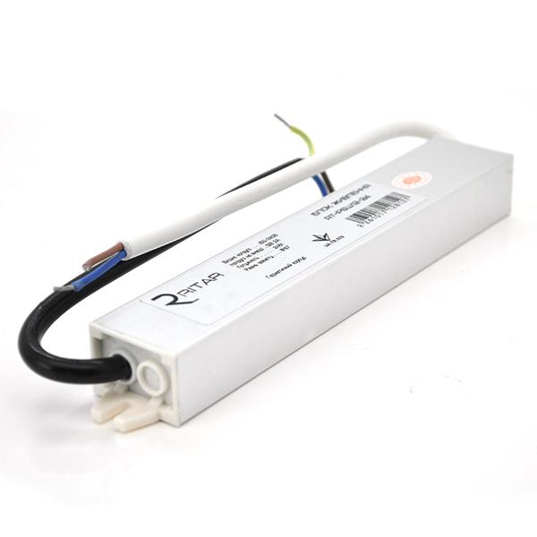 Купить Импульсный блок питания герметичный Ritar RTPSW12-36 12В 3А (36Вт) IP67 (232*36*36)  0.12 кг (202*29*20)