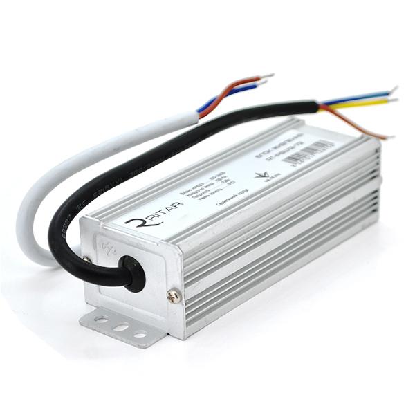 Купить Импульсный блок питания герметичный Ritar RTPSW12-72 12В 6А (72Вт) IP67 (195*50*40) 0,28 кг (135*45*32)