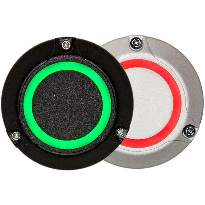 Купить Миниатюрный универсальный считыватель для систем контроля доступа LRE-1RS белый/черный