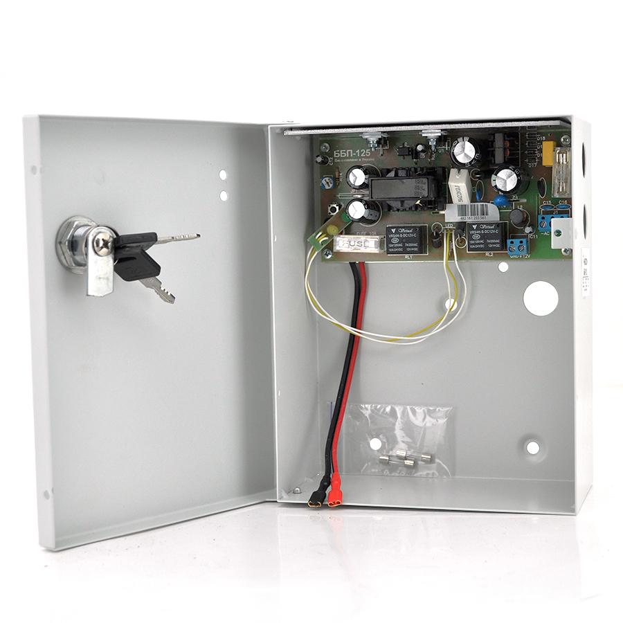 Купить Источник бесперебойного питания MERLION 12В 5А ББП-1260A (один канал, ток заряда до 350мА, заряд до 9А/ч)