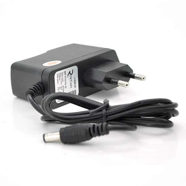 Купить Импульсный адаптер питания Ritar RTPSP 5В 1А (5Вт)  штекер 5.5/2.5  длина 1м Q100 (94*78*29) 0,08 кг