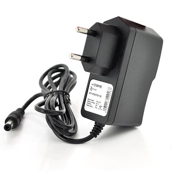 Купить Импульсный адаптер питания Ritar RTPSP 12В 2А (24Вт)  штекер 5.5/2.5  длина 1м Q100 ( (95*68*59)  0.12 кг (80*50*50)