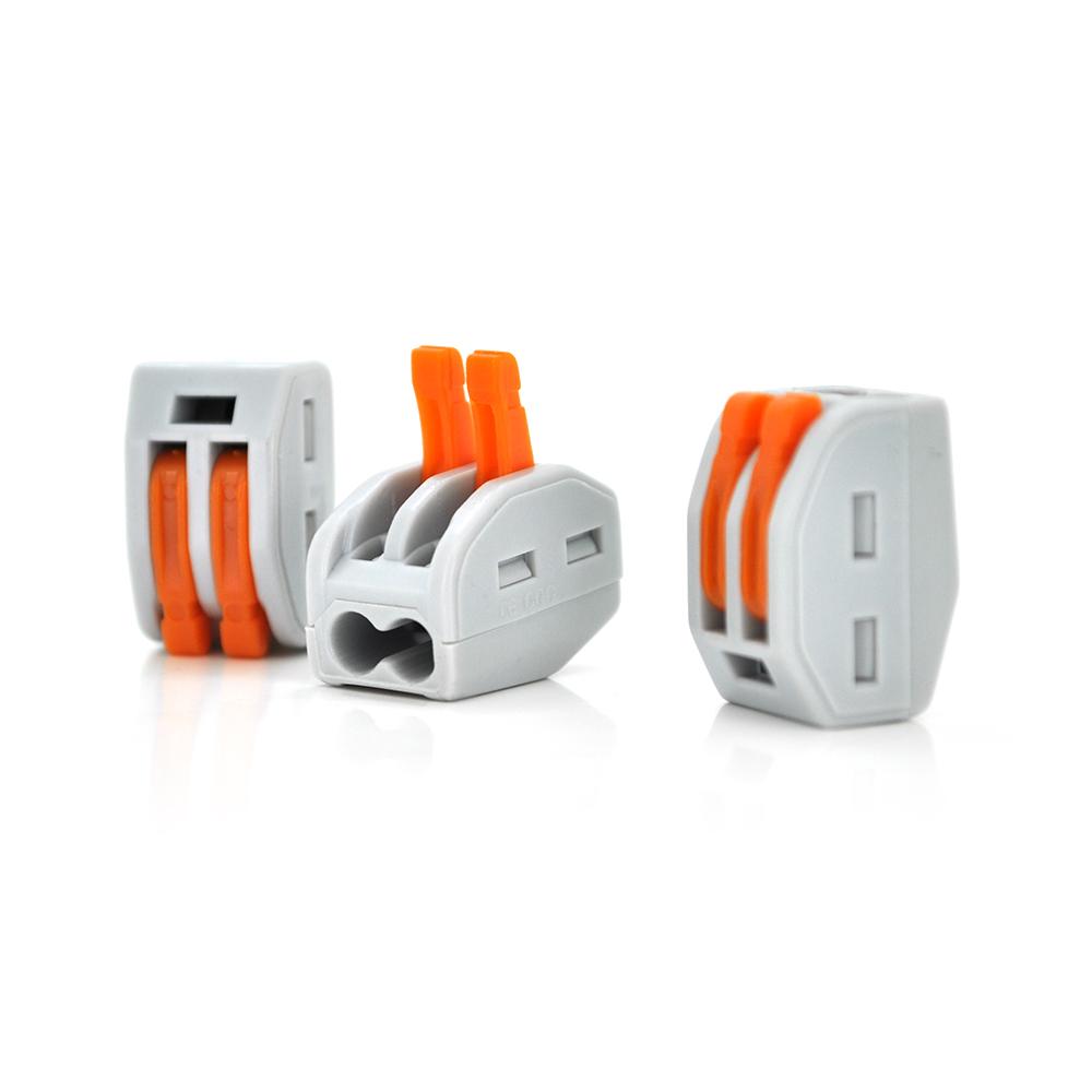 Купить Разъем для подключения проводки PCT-212, 2-pin (аналог WAGO), Q100