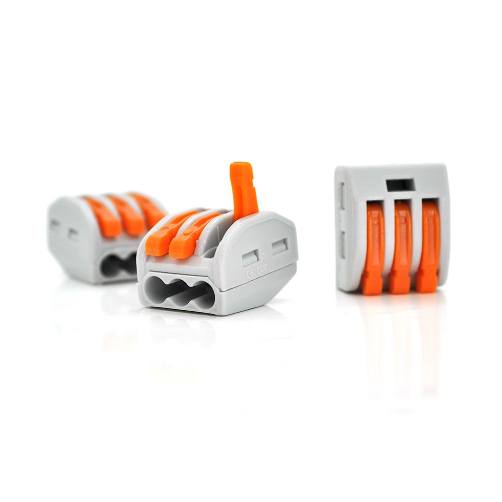 Купить Разъем для подключения проводки PCT-413, 3-pin