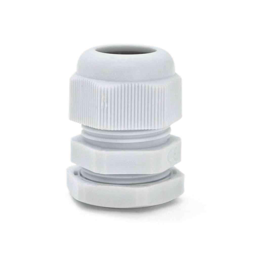 Купить Кабельный спиральный водонепроницаемый разъем PG7, white