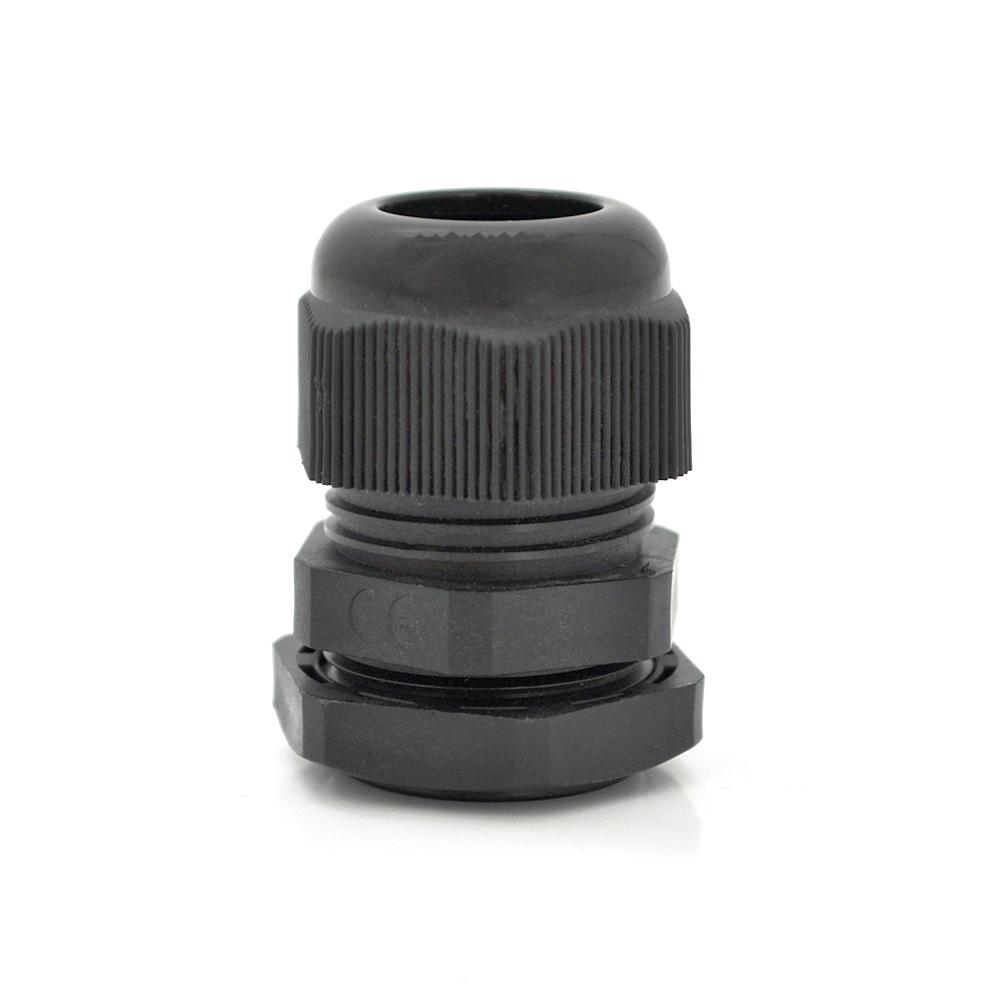 Купить Кабельный спиральный водонепроницаемый разъем PG7, black