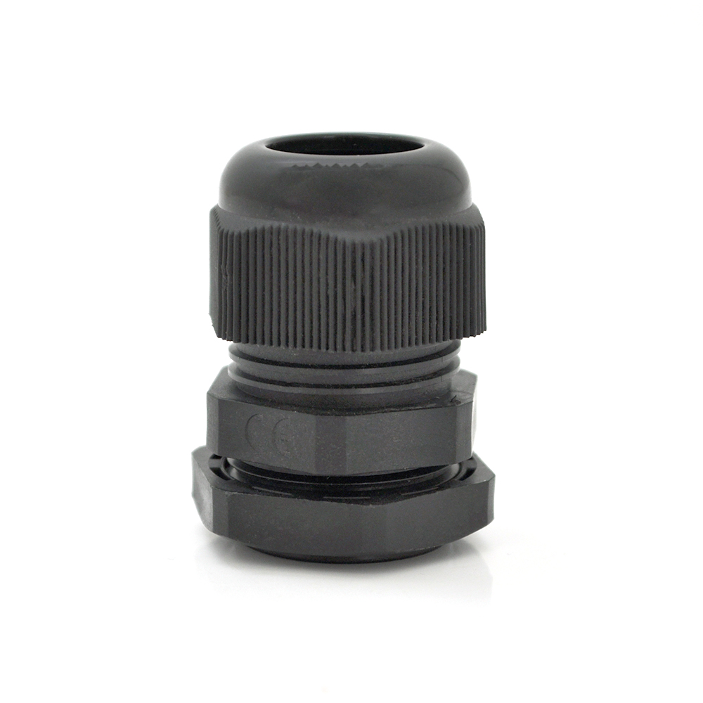 Купить Кабельный спиральный водонепроницаемый разъем PG9, black