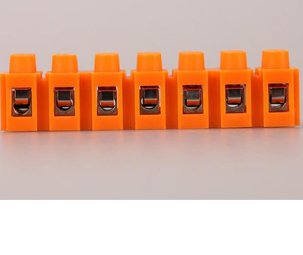 Купить Клеммный блок H2519-7P 36A/660V, материал медь, сечение провода 0.5-6мм2