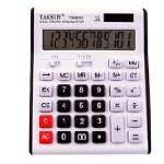 Купить Калькулятор офисный КК-8852, 33 кнопки, серебристый, размеры 190*140*40 мм, Box