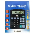 Купить Калькулятор офисный КК-838-12, 30 кнопок, черный, размеры 185*150*45мм, Box
