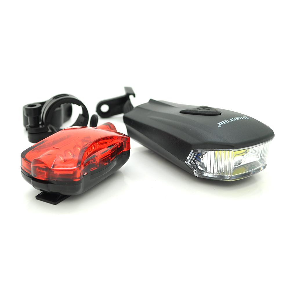 """Купить Фонарик Bailong велосипедный BL-508, 5 LED, питание 3*1.5""""ААА"""", BOX"""