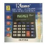 Купить Калькулятор офисный мини КК-Е729А, 24 кнопки, черный, размеры 130*115*20 мм, Box