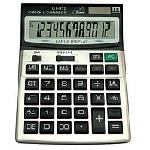 Купить Калькулятор офисный CT-912, 33 кнопки, серебристый, размеры 210*150*45мм, Box