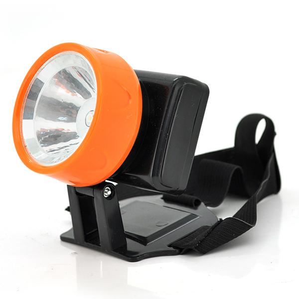 Купить Налобный Фонарик JH-801, 1*LED, 1 реж., корпус- пластик, 3*AAA, Orange, BOX