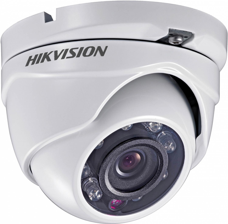 Купить 2MP Камера купольная Hikvision DS-2CE56D0T-IRMF (2.8 мм)