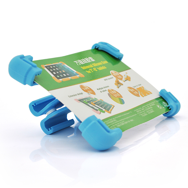 Купить Чехол силиконовый противоударный для планшета ZH-5295  for iPad 7-7.9 inch  Blue