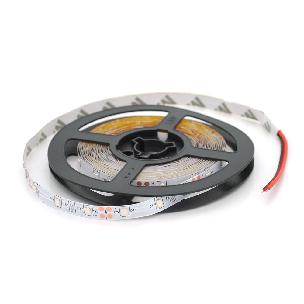 Купить Лента Светодиодная в силиконе 3528, (60 светодиодов) 5 метров катушка White HOT