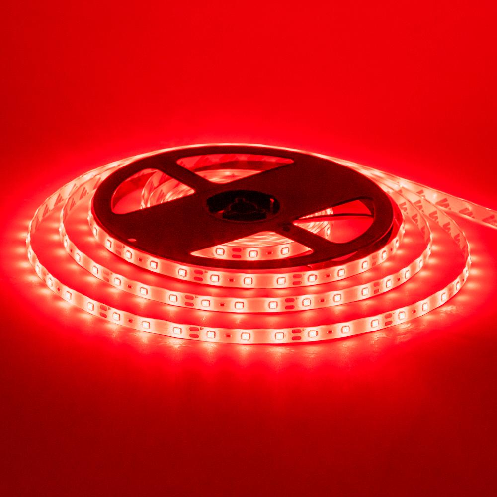 Купить Лента Светодиодная в силиконе 3528 RGB (60 светодиодов) 5 метров катушка