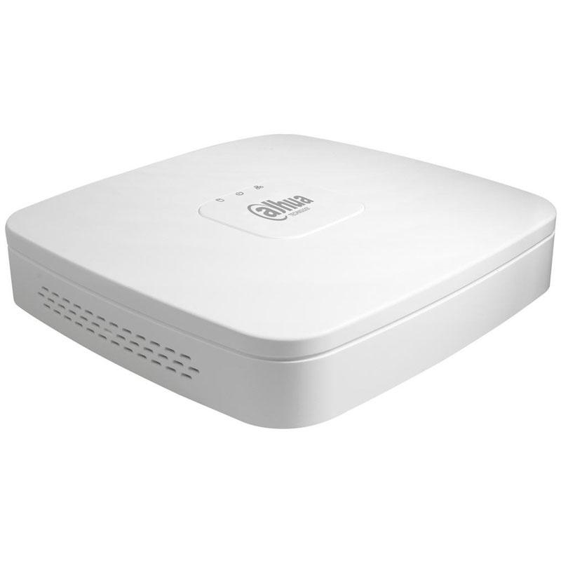 Купить 8-канальный PОE видеорегистратор в пластиковом корпусе  DH-NVR2108-8P-S2